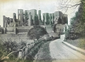 Kenilworth Castle from 'Beautiful Britain', 1894