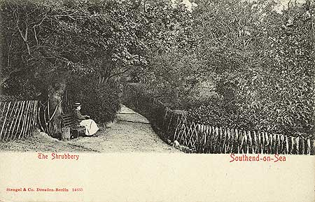 The Shrubbery, Southend on Sea, 1900-1930Reproduced by permission of English Heritage.NMR Reference Number: PC08828