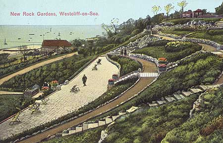 New Rock Gardens, Westcliff On Sea, Southend On Sea, 1927 - 1932, Reproduced by permission of English Heritage.NMR Reference Number: PC08952