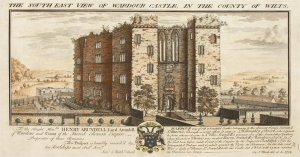 Old Wardour Castle by Nathaniel Buck