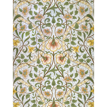 Wallpaper, designed by John Henry Dearle c.1890 and printed by Sanderson 1955 V&A E.1419-1979