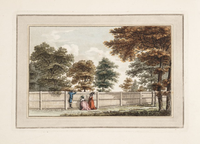 Brandsbury before improvement, from Sketches and hints on landscape gardening, 1794