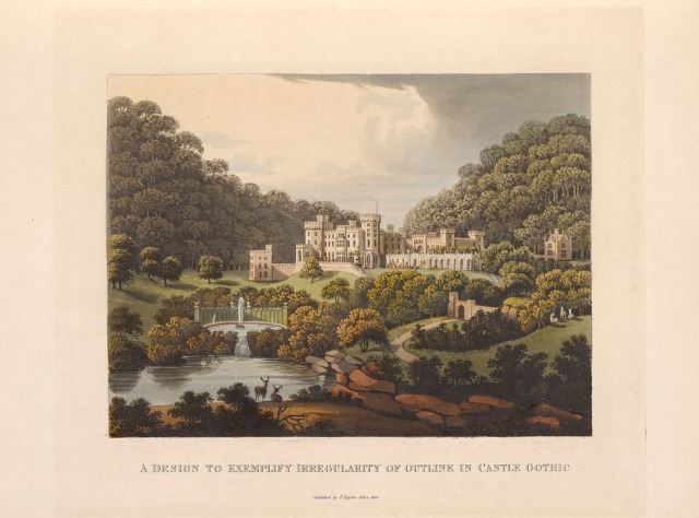 from Fragments on the theory and practice of landscape gardening, 1816