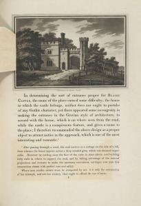 The Entrance Lodge at Blaise Castle, nr Bristol from Observations on the theory and practice of landscape gardening, 1803