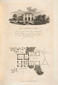 Design for a villa nera Bristol, Observations on the theory and practice of landscape gardening, 1803
