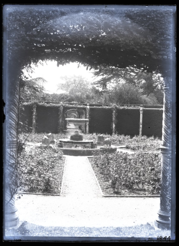 The Rose Garden taken by Geofrrey Bingley in 1891 Leeds University Digital Library