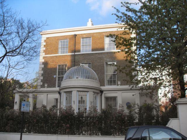 Loudon's villa at 3 Porchester Terrace, Bayswater. http://www.knowledgeoflondon.com/loudon.html