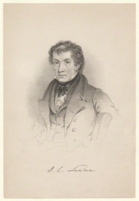 John Claudius Loudon, unknown artist, National Portrait Gallery