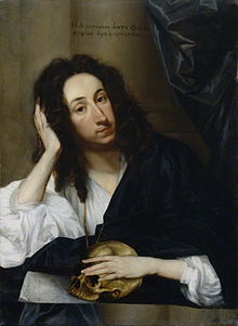 John Evelyn, by Robert Walker, 1648, National Portrait Gallery