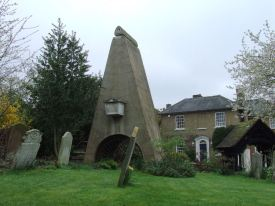 The tomb of Loudon's father in Pinner Churchyard . Image from ledgeoflondon.com/curiosities.html