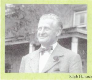 Ralph Hancock,  from a flyer produced by Neath Port Talbot College PGDS 602