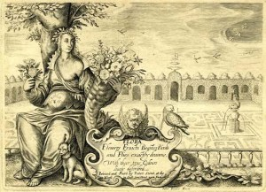 Flora: flowers fruicts beastes birds and flies exactly drawne, With their true colours lively described, by John Payne, 1620 but compiledfrom earlier continental printed sources. © Copyright The Trustees of The British Museum