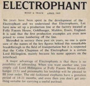"""Electrophants"" at Goldhanger http://www.churchside1.plus.com/Goldhanger-past/Eletrophants.htm"