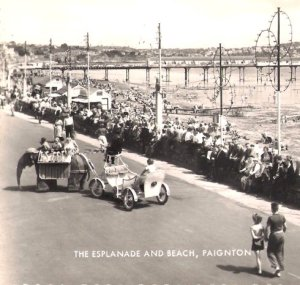 Paignton-Mechanical-Elephant-1950s-detail