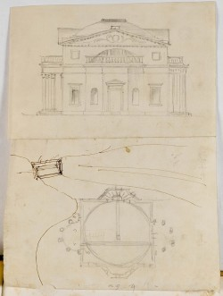 Robert Adam, Preliminary designs and finished drawings for the pheasant house, c1760, unexecuted  Sir John Soane's Museum
