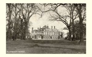 Aldenham House, Elstree Photo by Downer, Watford, circa 1904 http://www.hertfordshire-genealogy.co.uk