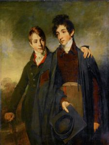 John Soane Junior and George Soane, by William Owen,  1805  Sir John Soane's Museum