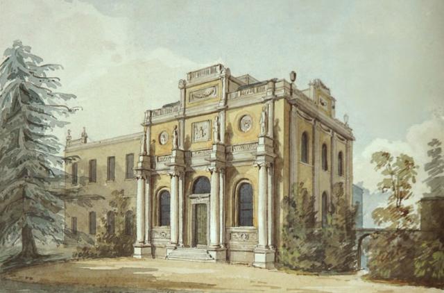 Perspective: Pitzhanger Manor Sir John Soane Museum