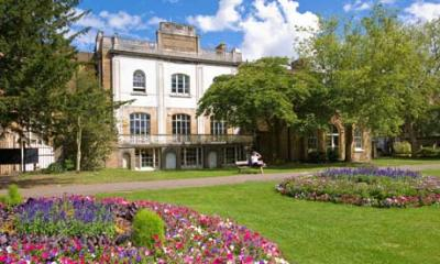 Pitzhanger Manor House in Ealing 's Walpole Park. Photograph: Alamy from the Guardian, 9 Jan 2013