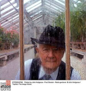Portrait by John Hedgecoe - Fred Streeter - Radio gardener. © John Hedgecoe / Topfoto / The Image Works
