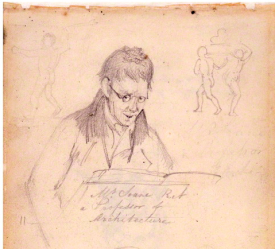 John Soane, by Thomas Cooley, 1810 National Portrait Gallery