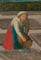 Detail from Spring by Pieter Breughel the younger, c.1630, Sothebys