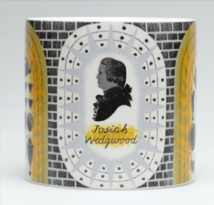 Josiah Wedgwood on the Barlaston Mug, designed by Eric Ravilious, 1940 Wedgwood Museum
