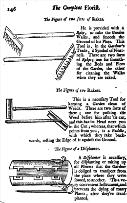 Illustrations from The Retir'd Gardener, 1706, p.146
