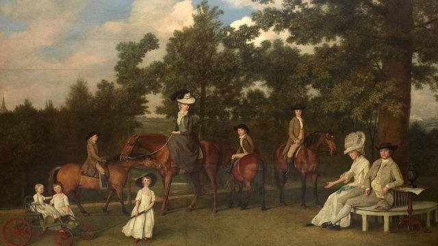 Josiah Wedgwood and his family, by George Stubbs, 1800 Wedgwood Museum