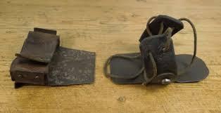 Shoe protectors, c.1920s