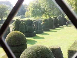 The topiray lawn at Hall PLace, Bexley David Marsh 21014