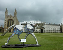 The White Horse of Hanover Kings College, Cambridge