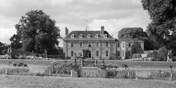 The garden front of Sheriff Hutton Hall.  Country Life Picture Library, originally publihsed  08/09/1966