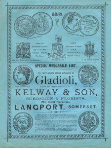 Kelways Catalogue of Gladioli 1888-89 http://www.kelways.co.uk