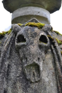 Detail from Azor's monument, St Mary's churchyard, Orchardleigh http://creatingpicturesinmymind.blogspot.co.uk