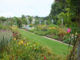 The herbaceous borders David Marsh 2014