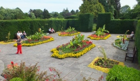 The Paved Court - with Alex the Head Gardener David Marsh 2014