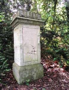 Monarch's monument, Stoneleigh Abbey ymgw.blogspot.