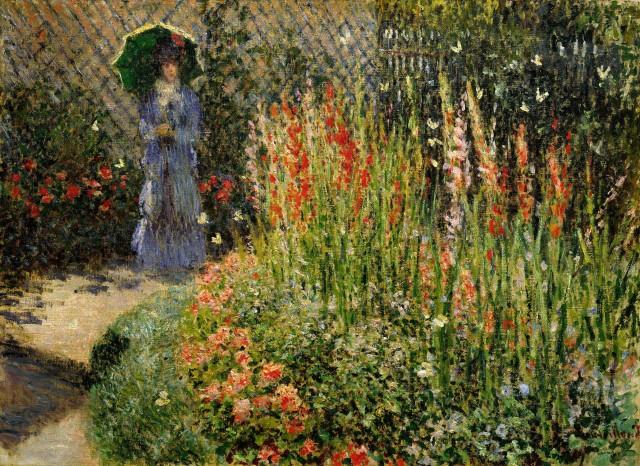 Gladioli, Claude Monet, 1876 Detroit Institute of Art