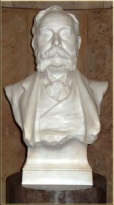 Bust of John Cory, Cardiff Museum