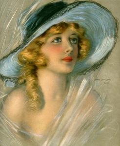 Portrait of Davies for the June 1920 cover of Theatre Magazine