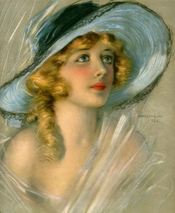 Portrait of Davies for the June 1920 cover of Theatre Magazine