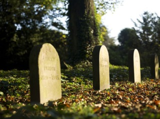 Pet Cemetery at Brodwsorth, English Heritage