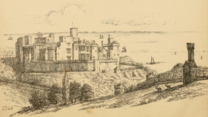 "The fronispiece of Thirteen Views of the Castle of St Donat's"", 1871 https://archive.org/stream/thirteenviewsofc00clar#page/n5/mode/2up"