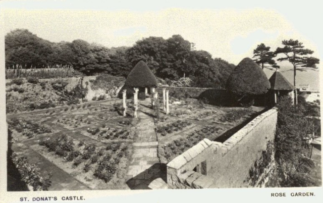 The Rose Garden, 1926 from  the Peter Davis Collection at Parks and Gardens UK.