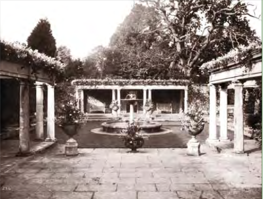The Pompeaian Garden, 1915, Glamorgan Archives