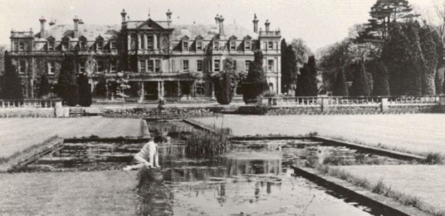 The Lily Pond, and canal Dyffryn, 1952, the Peter Davis Collection at Parks and Gardens UK