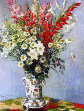 Vase of Flowers, Claude Monet, 1878