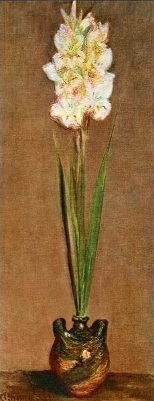 Gladiolus by Claude Monet