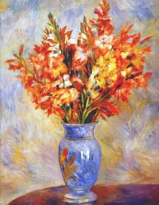 Gladioli   Pierre-Auguste Renoir, 1884